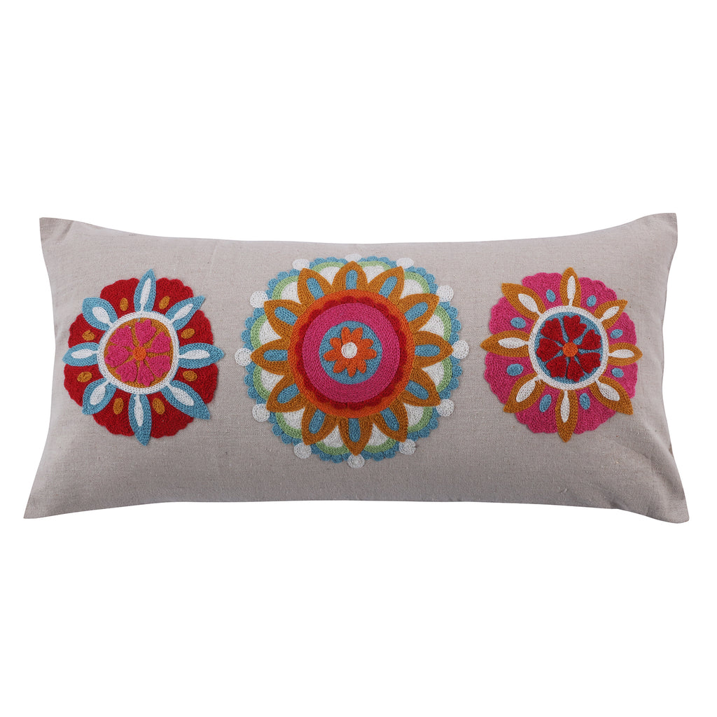 Rhapsody 3 Medallion Pillow
