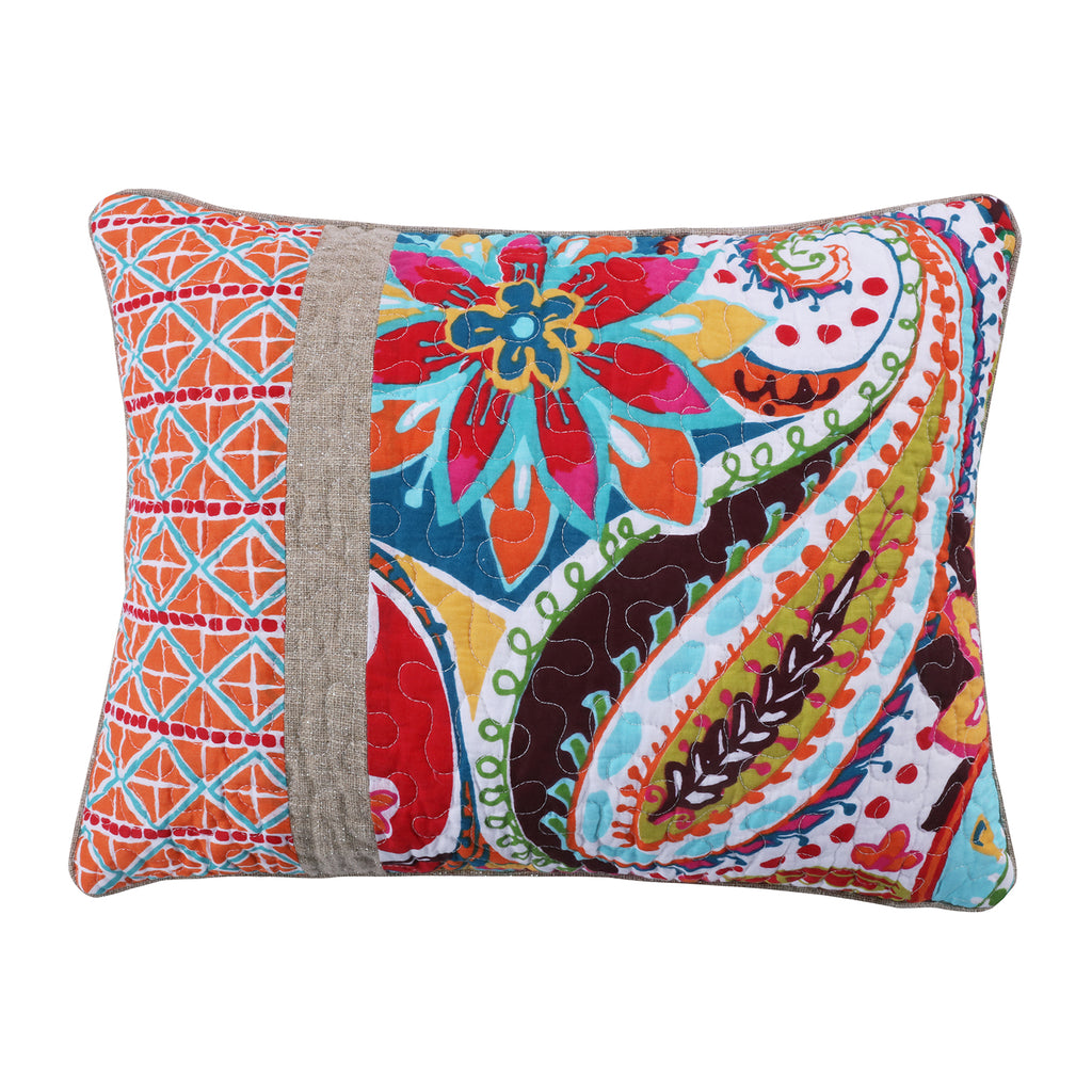 Rhapsody Pieced Pillow