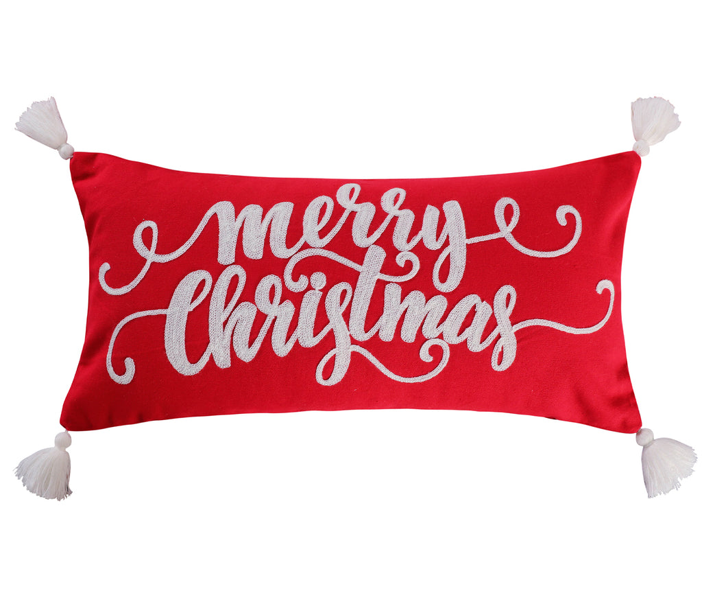 Road Trip Merry Christmas Pillow