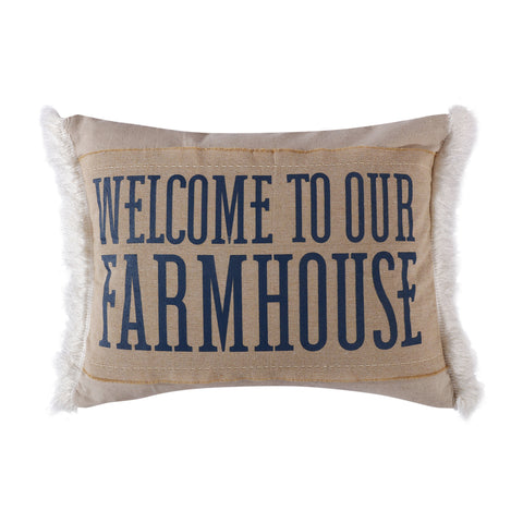 Rochelle Stripe Farmhouse Pillow