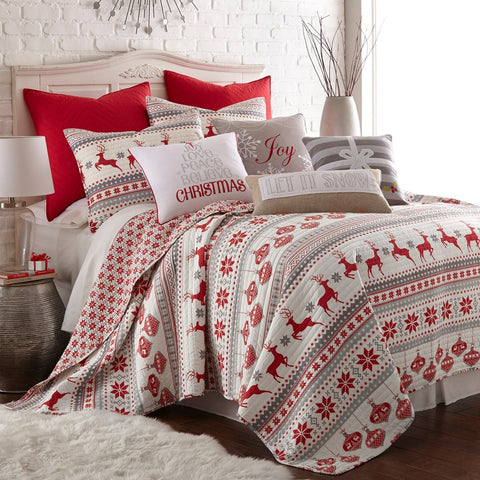 Silent Night Quilt Set