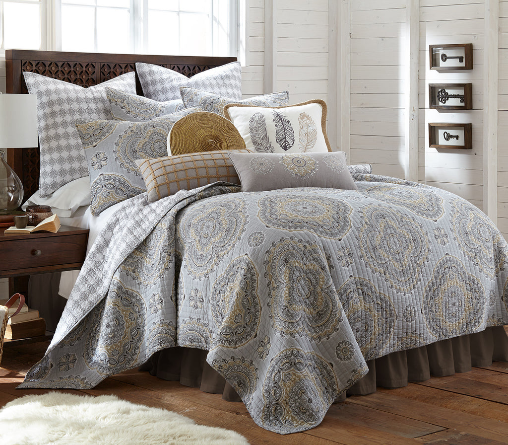 Levtex Home Quilt Set Part - 19: Solano Neutral Quilt Set