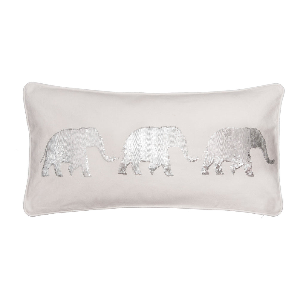 Sparkle Sequin elephant pillow