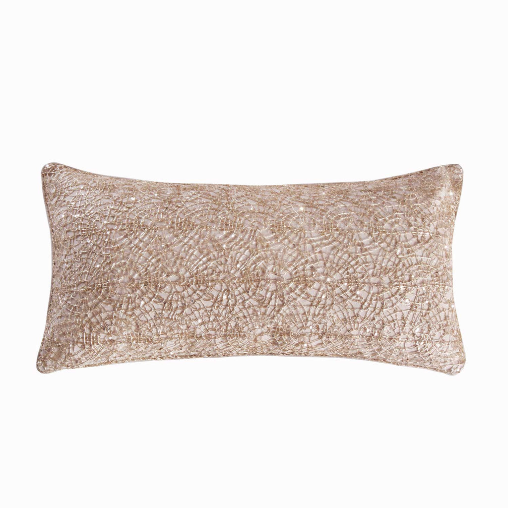 Spruce Gold Overlay Pillow