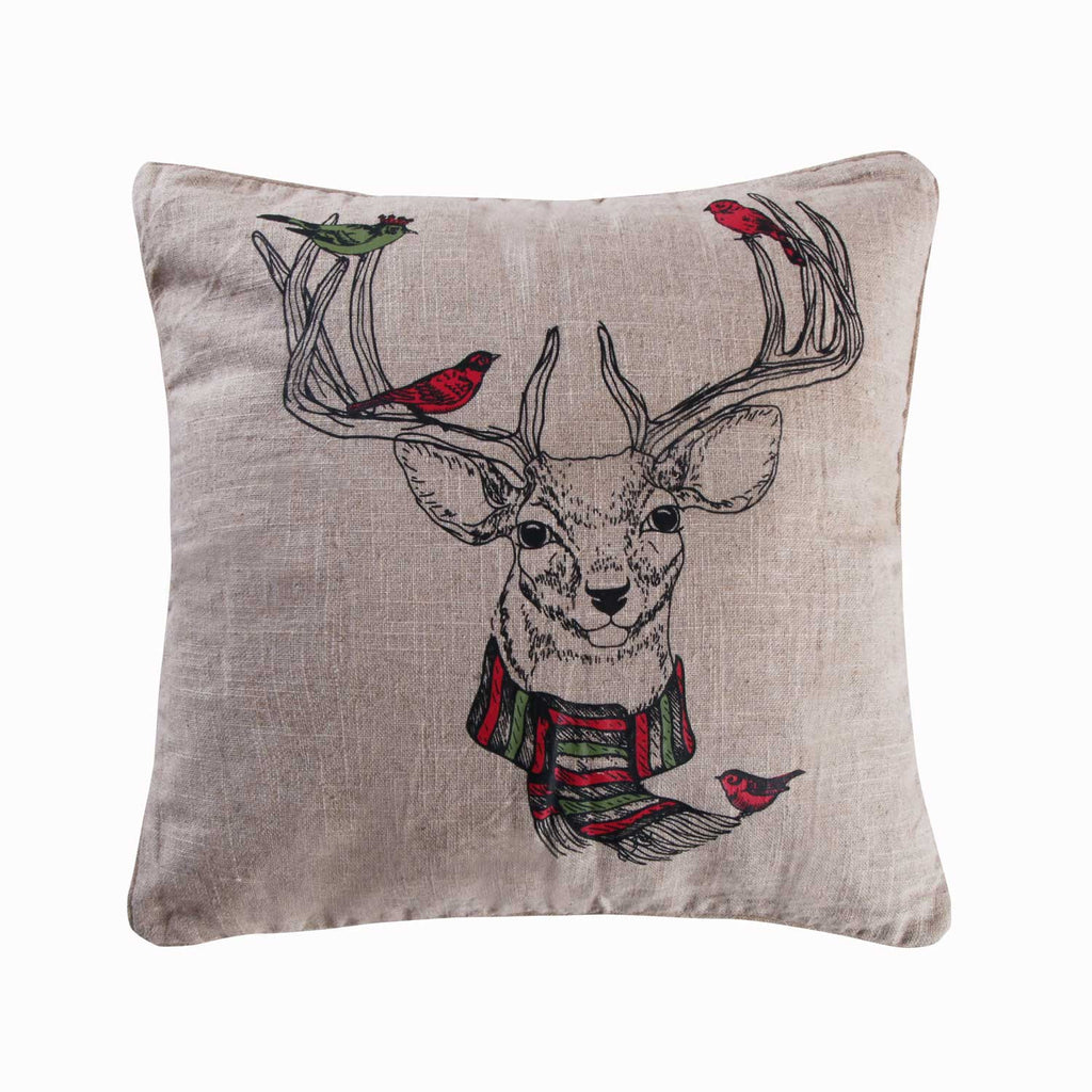 Spruce Deer Pillow