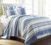 St Bart Stripe Quilt Set