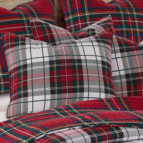 Thatch Home Spencer Plaid Sham Set