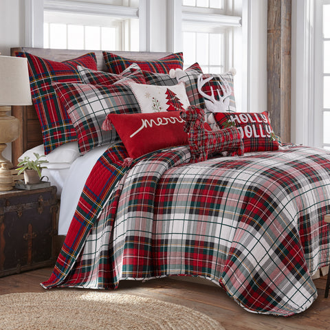 Thatch Home Spencer Plaid Quilt