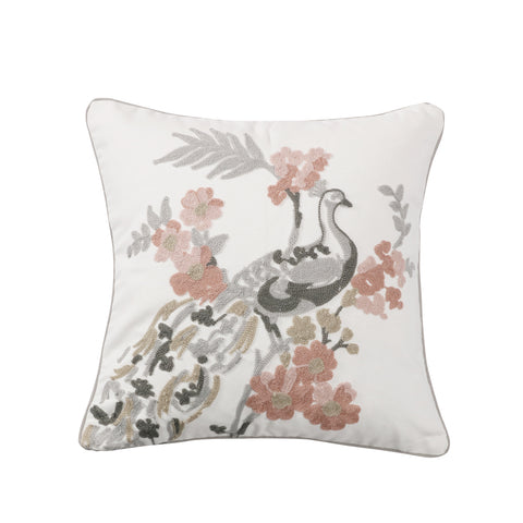 Toulouse Peacock Pillow