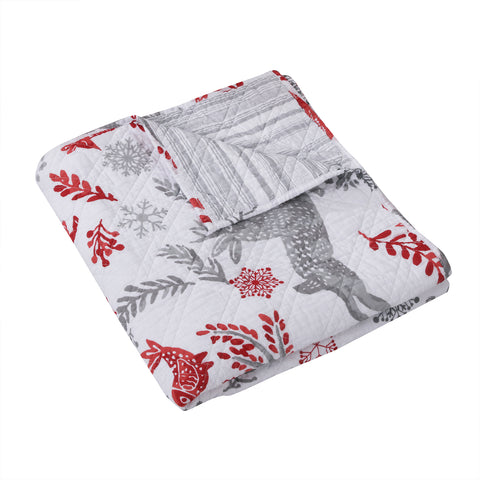 Winterland Quilted Throw
