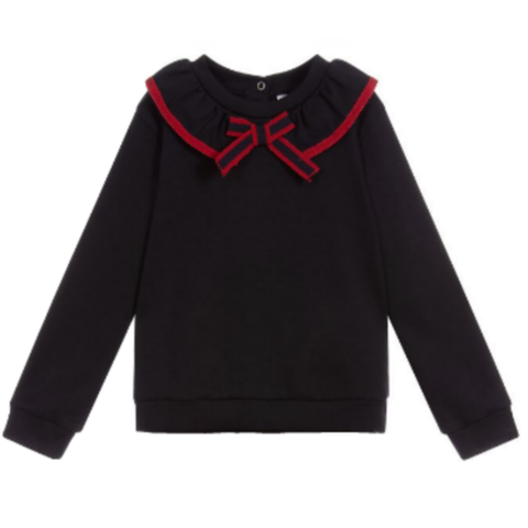Patachou Girl Navy Sweater