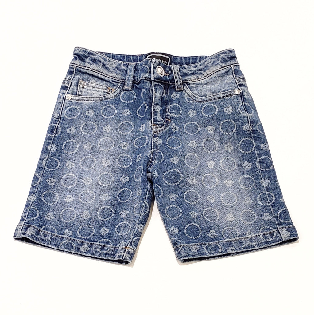 Versace Boy Denim Shorts