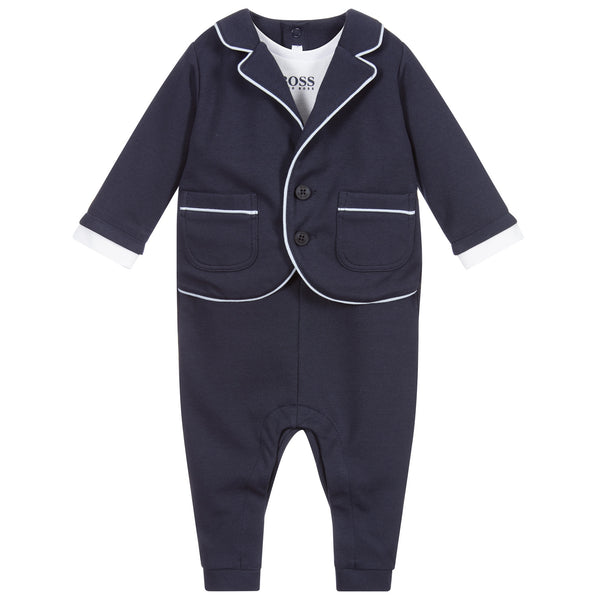 BOSS Baby My First Suit Romper