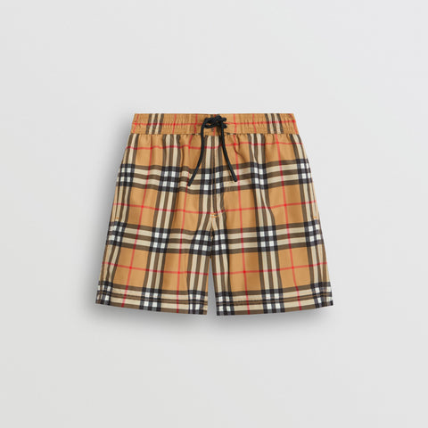 Burberry Vintage Check Swim Shorts