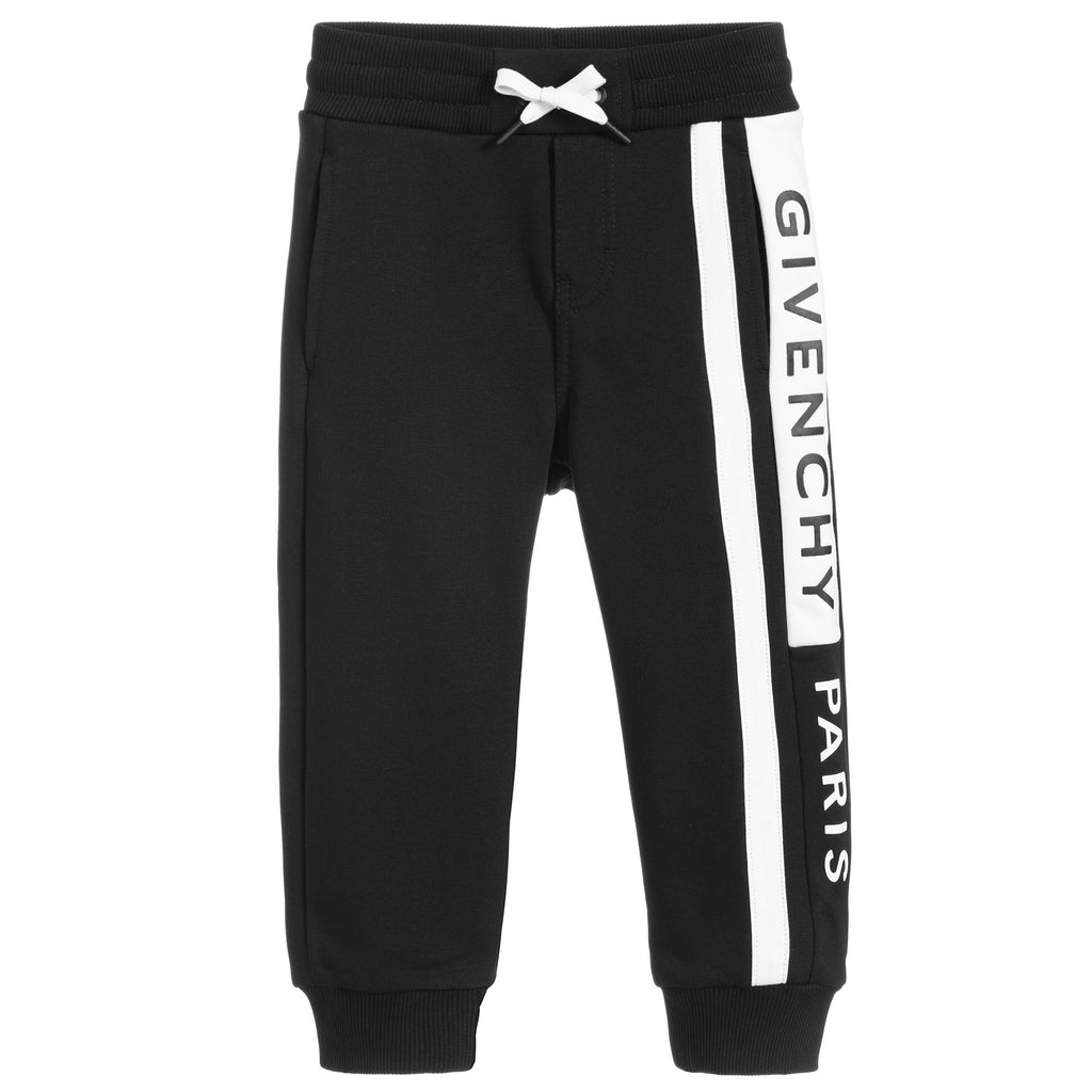 Givenchy Black Logo Sweatpants