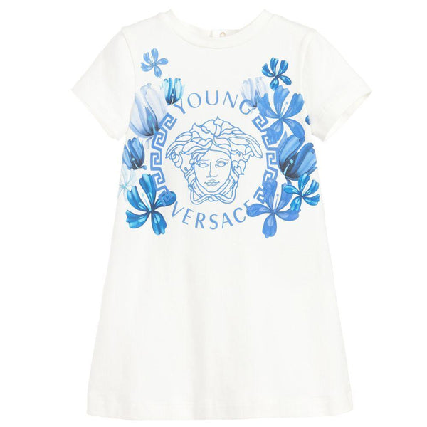Versace Baby Jersey Medusa Dress