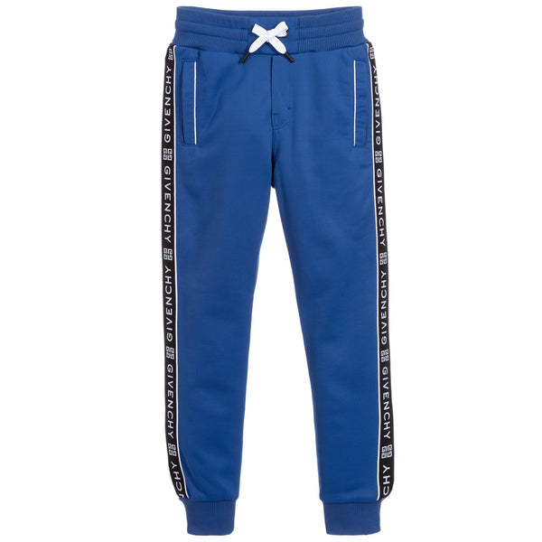 Givenchy Blue Jersey Sweatpants