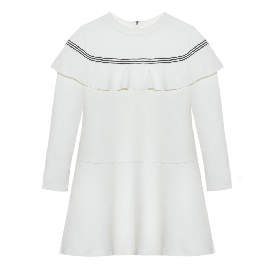 Patachou Offwhite Cotton Dress