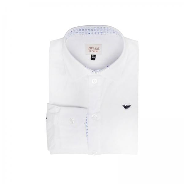 AJR White Cotton Shirt