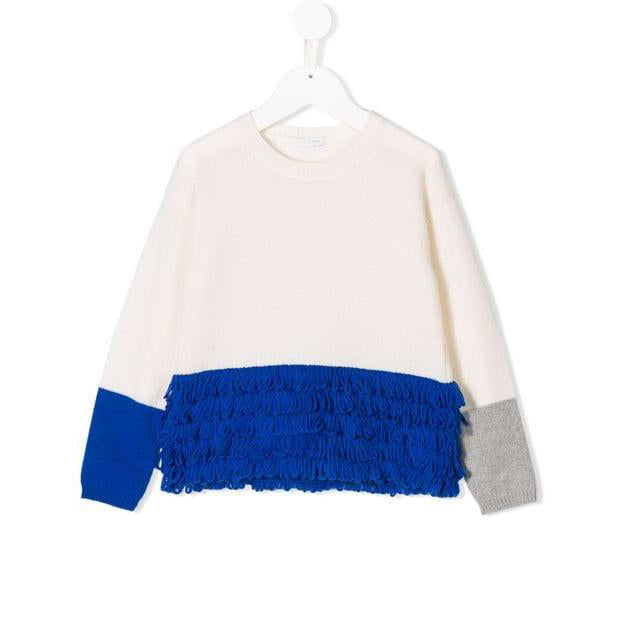 IL GUFO Milk Blue Sweater