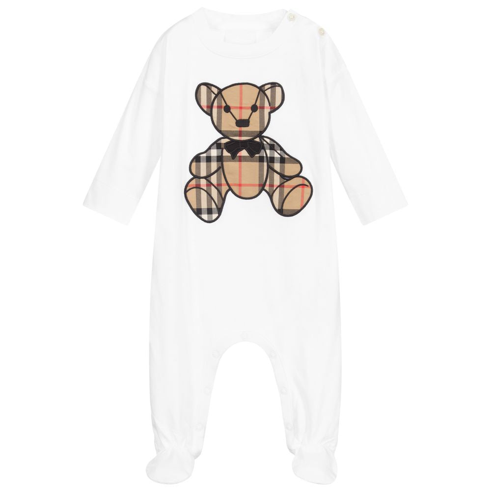 Burberry Thomas Bear Organic Cotton All-in-one