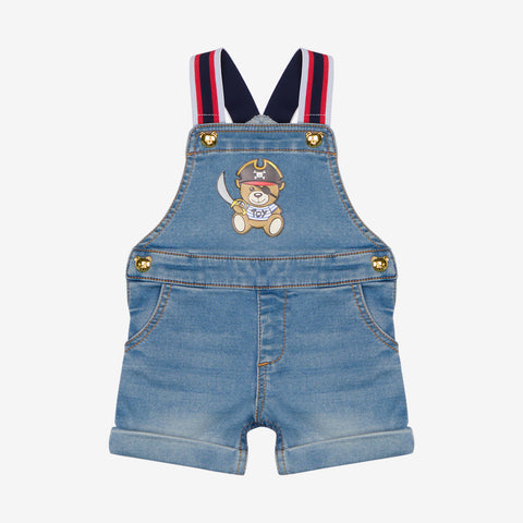 Moschino Pirate Teddy Bear Dungaree