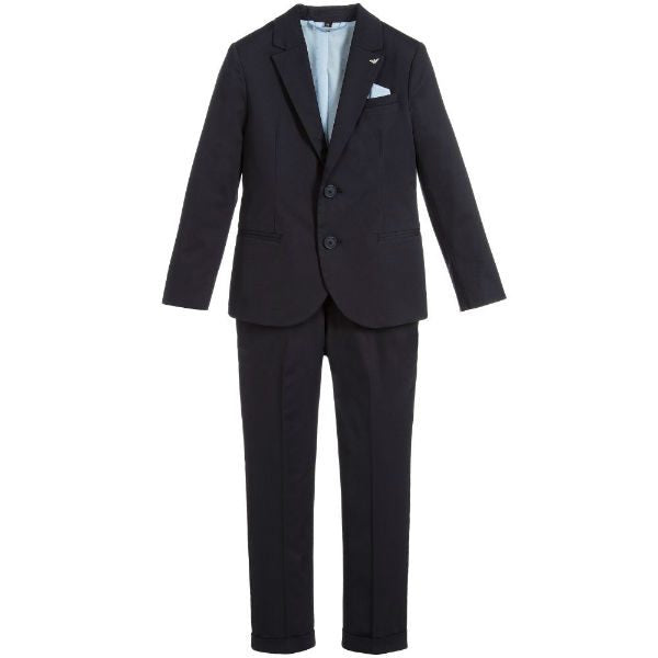 AJR Boys Cotton 2 Piece Suit