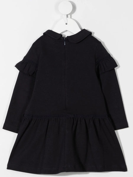 Patachou Navy Long Sleeve Dress