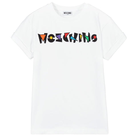 Moschino Logo Sign Maxi Tee
