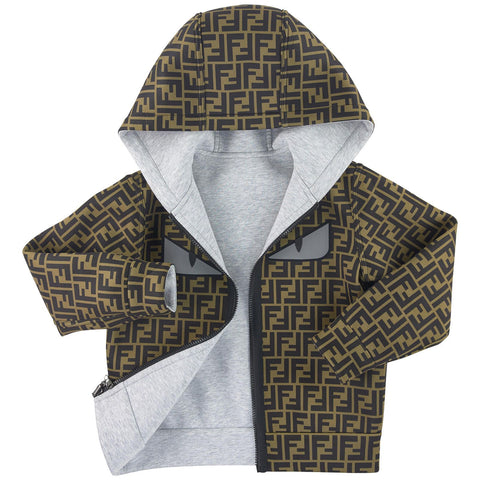 Fendi Reversible Hooded Monster Jacket