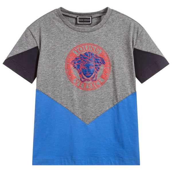 Versace Boys Cotton Medusa T-Shirt
