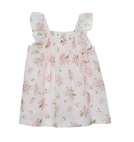 Patachou Pink Simple Flower Dress