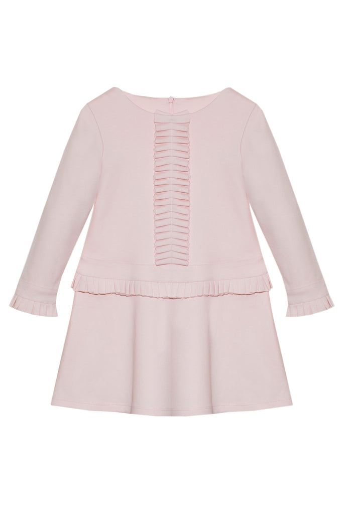 Patachou Pale Pink Cotton Dress