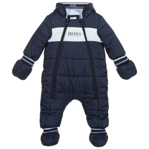 BOSS Baby Navy Logo Snowsuit