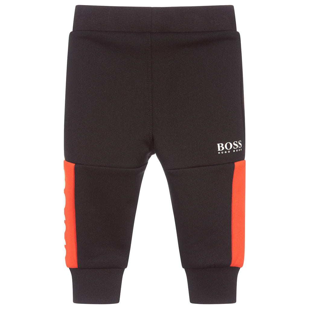 BOSS Black&Red Logo Sweatpants