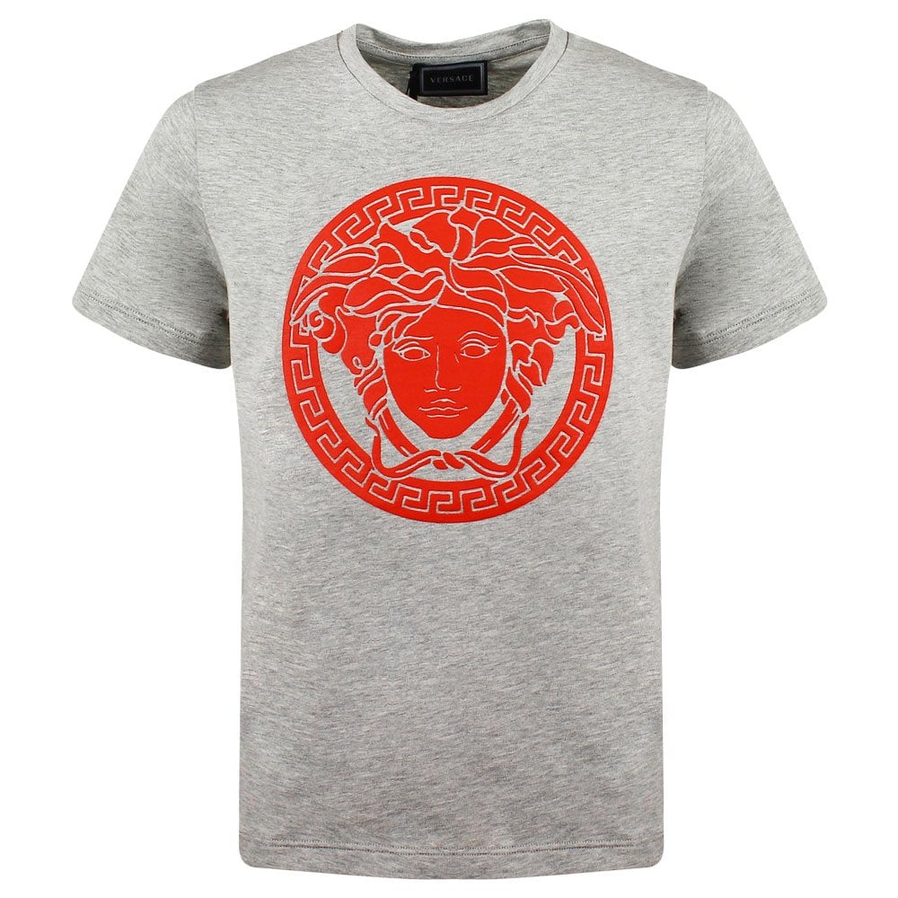 Versace Tshirt with Red Medusa Logo