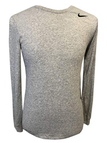 Nike men's training tee small gray