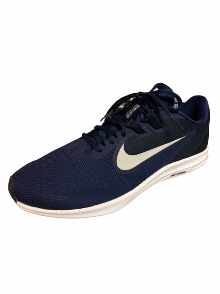 Nike men's downshifted 9 wide navy 12
