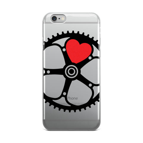 Chainring Heart iPhone 5/5s/Se, 6/6s, 6/6s Plus Case