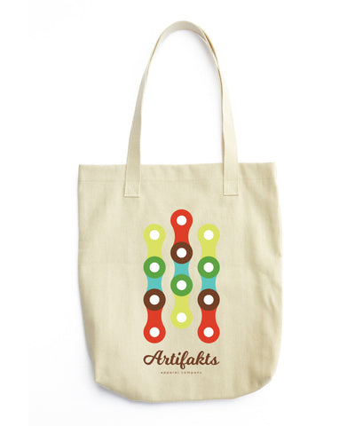Bike Chain Tote bag