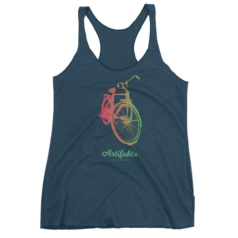psychedelic bike tank top