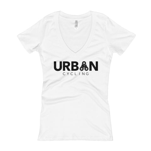 Urban Cycling Women's V-Neck T-shirt