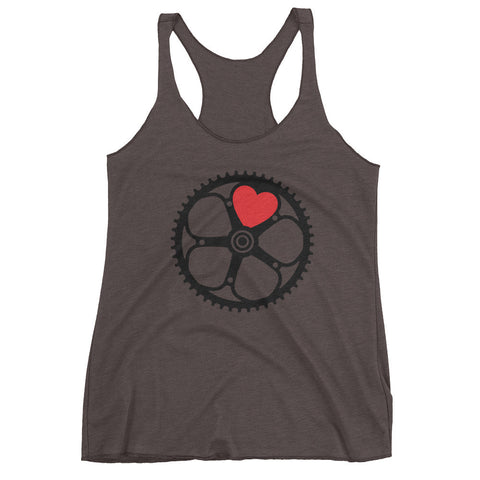 Chainring Heart Women's tank top