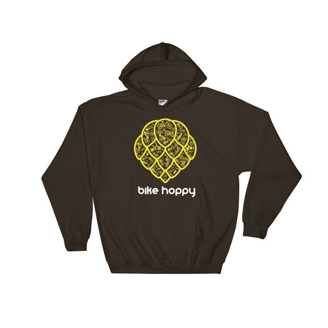 bike hops hooded sweatshirt