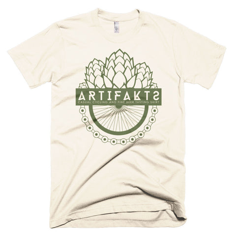 Hops & Chains t-shirt - Cream