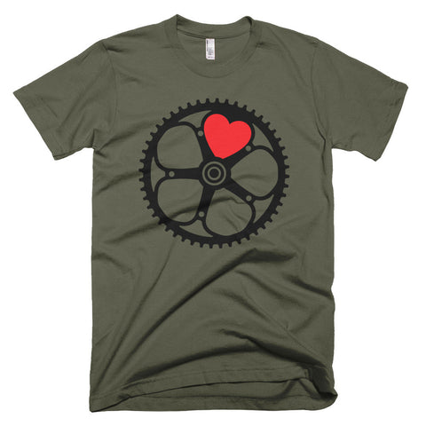 Heart Like a Chainring t-shirt