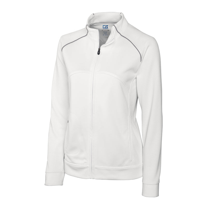 Edge Full Zip Womens Track Jacket