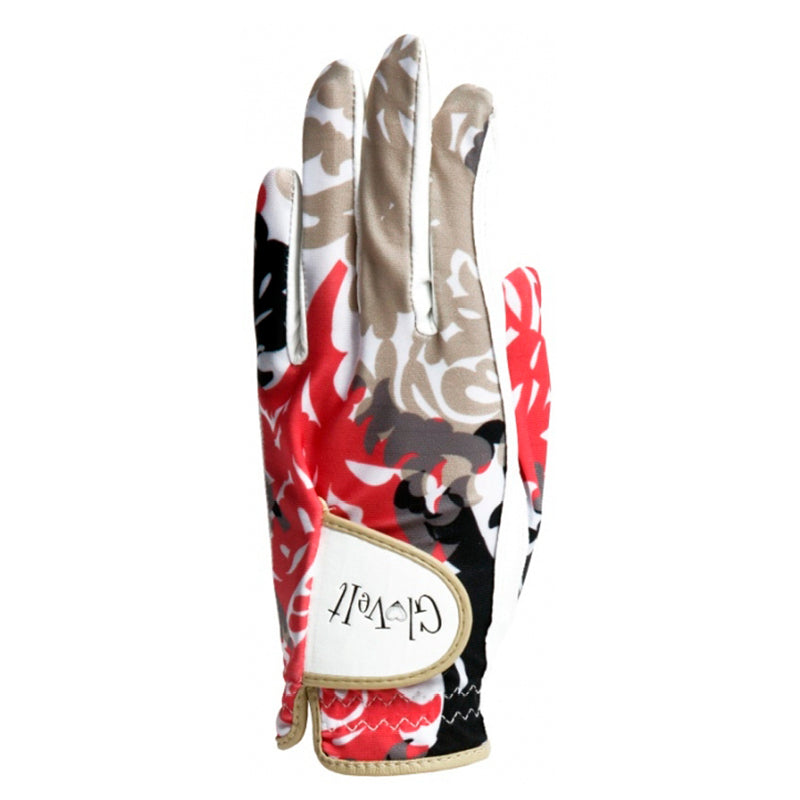 Coral Reef Leather Golf Glove