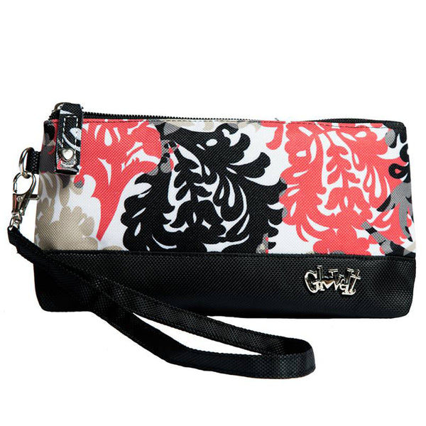 Coral Reef Women's Wristlet and Sports Accessory/ Makeup Clutch Bag