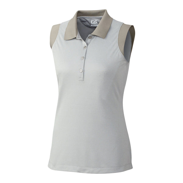 Charlie Oxford Sleeveless Polo